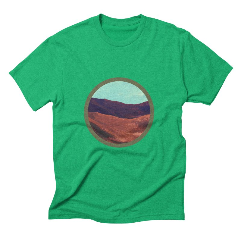 Outpost in Men's Triblend T-Shirt Tri-Kelly by The Agora
