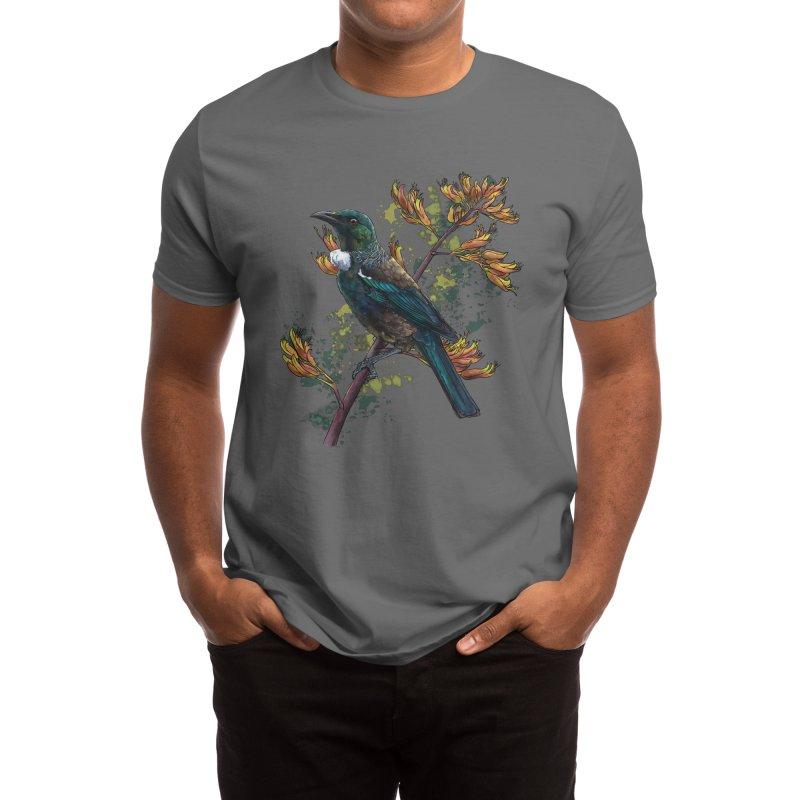 Tūī Men's T-Shirt by Ajoh's Artist Shop