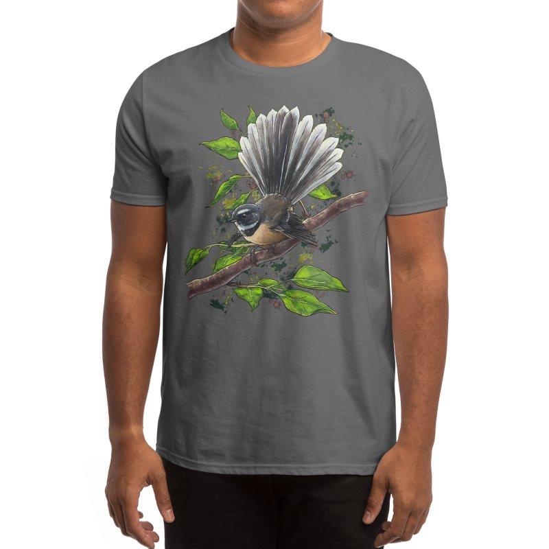 Pīwakawaka Men's T-Shirt by Ajoh's Artist Shop