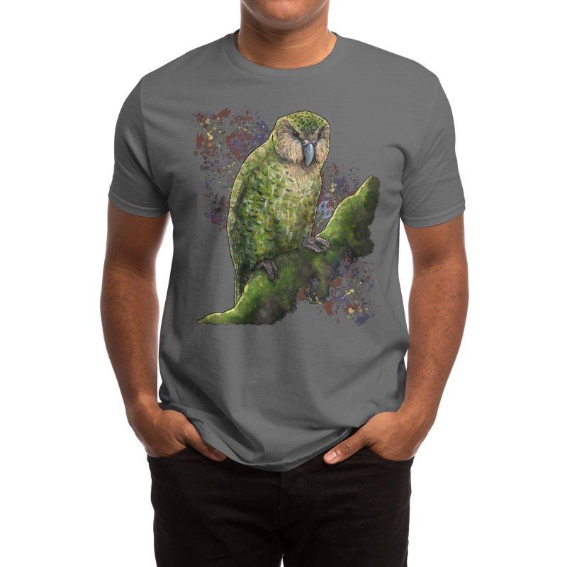 Kākāpō Men's T-Shirt by Ajoh's Artist Shop