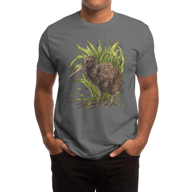 Kiwi Men's T-Shirt by Ajoh's Artist Shop