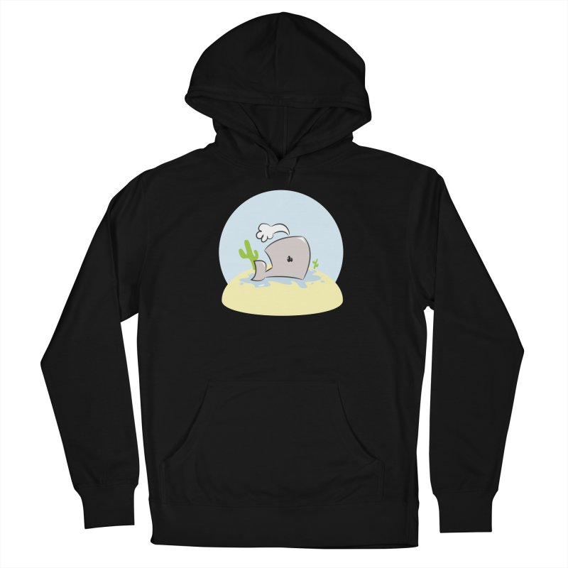 Deserted Whale Men's Pullover Hoody by Alaabahattab's Artist Shop