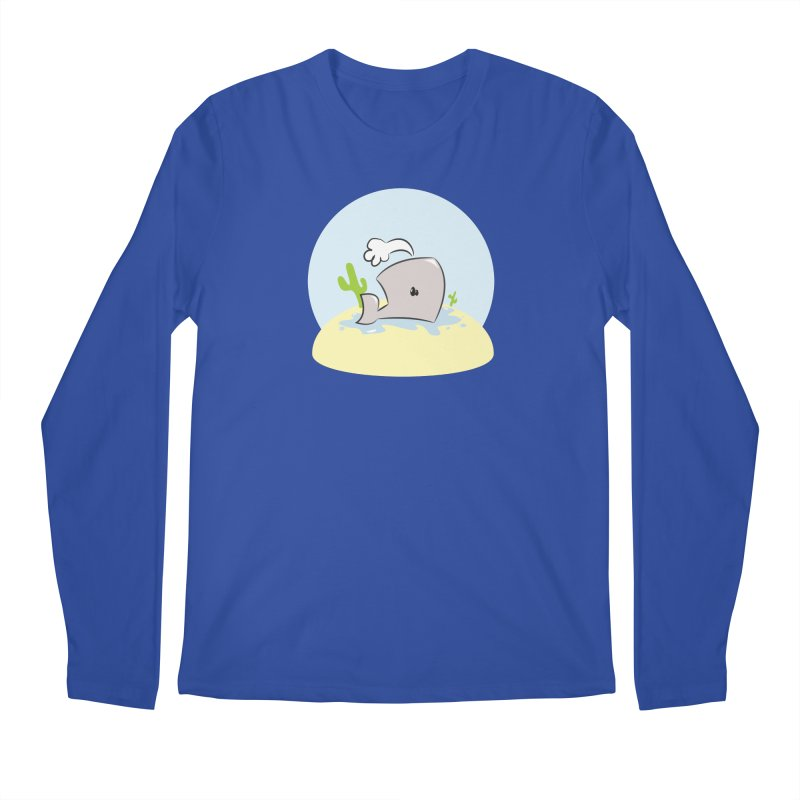 Deserted Whale Men's Longsleeve T-Shirt by Alaabahattab's Artist Shop