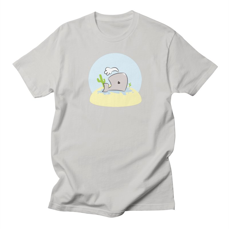 Deserted Whale Men's T-shirt by Alaabahattab's Artist Shop