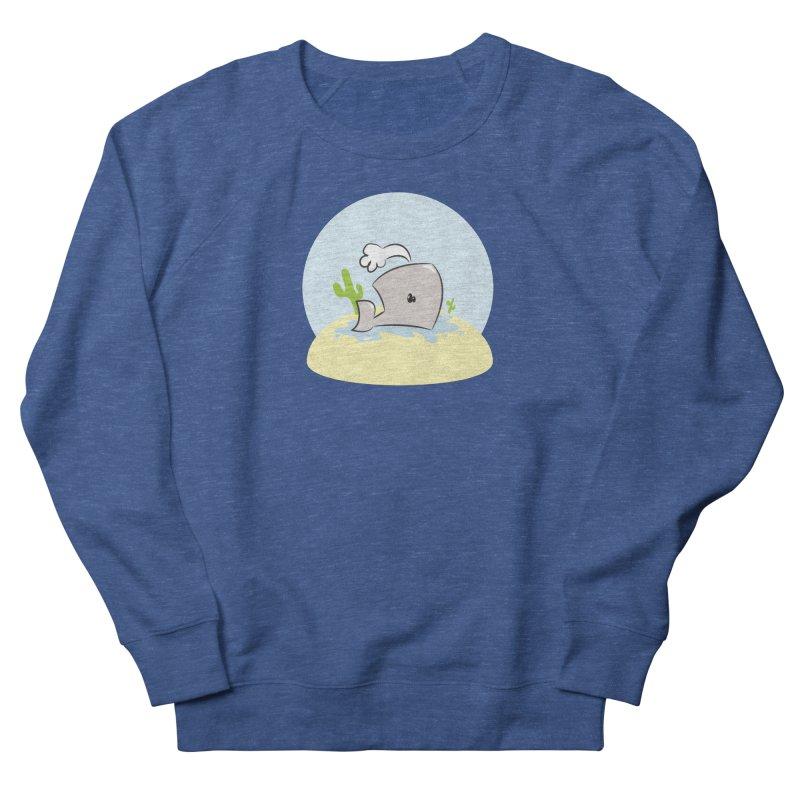 Deserted Whale Women's Sweatshirt by Alaabahattab's Artist Shop