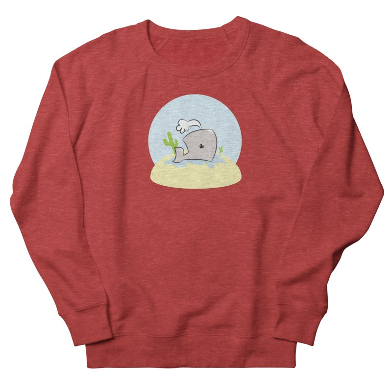 Deserted Whale Women's Sweatshirt by Alaabahattab's Artist Shop