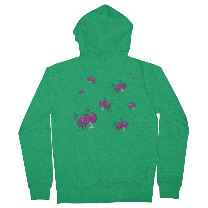 Flies Women's Zip-Up Hoody by Alaabahattab's Artist Shop