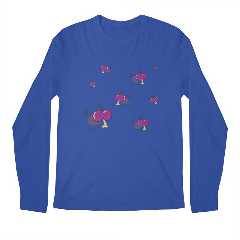 Flies Men's Longsleeve T-Shirt by Alaabahattab's Artist Shop