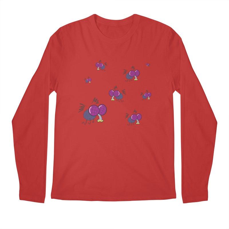 Flies Men's Longsleeve T-Shirt by Alaabahattab's Artist Shop