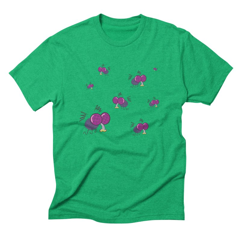 Flies Men's Triblend T-Shirt by Alaabahattab's Artist Shop