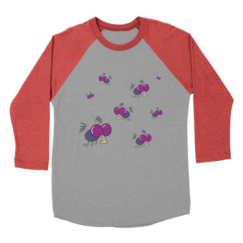 Flies Women's Baseball Triblend T-Shirt by Alaabahattab's Artist Shop