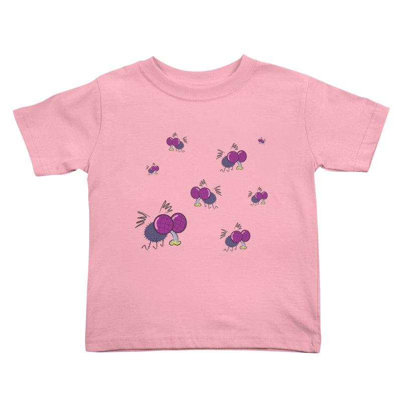 Flies Kids Toddler T-Shirt by Alaabahattab's Artist Shop