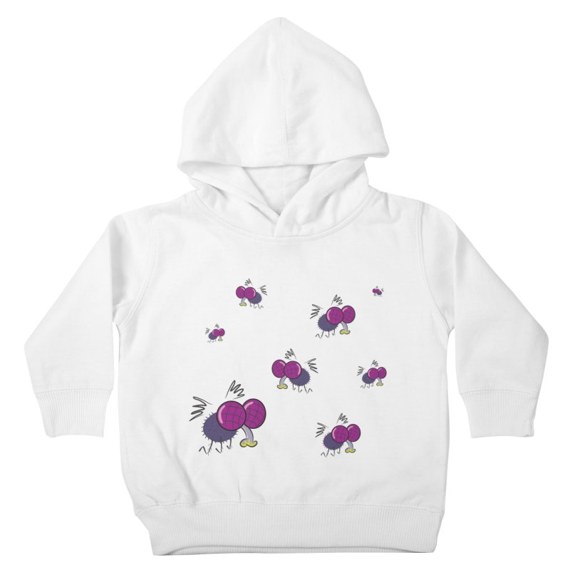 Flies Kids Toddler Pullover Hoody by Alaabahattab's Artist Shop