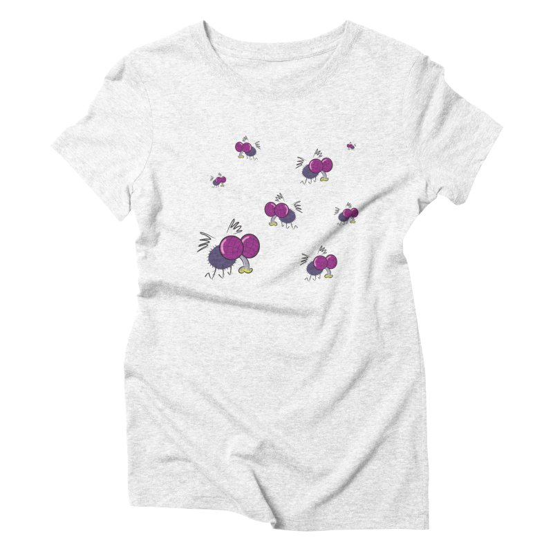 Flies Women's Triblend T-shirt by Alaabahattab's Artist Shop