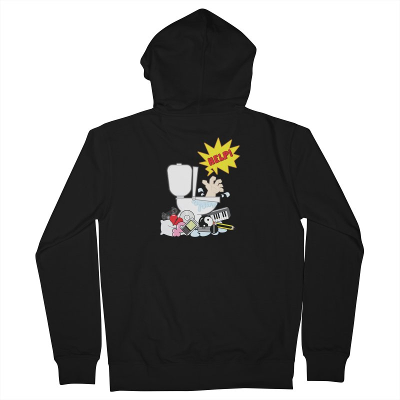 Brain Clog Women's Zip-Up Hoody by Alaabahattab's Artist Shop