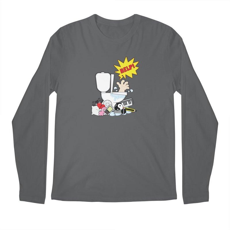Brain Clog Men's Longsleeve T-Shirt by Alaabahattab's Artist Shop