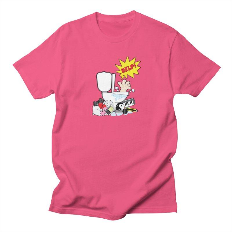 Brain Clog Men's T-Shirt by Alaabahattab's Artist Shop