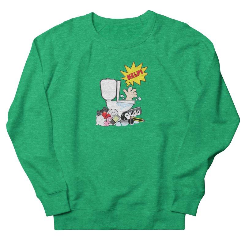 Brain Clog Women's Sweatshirt by Alaabahattab's Artist Shop