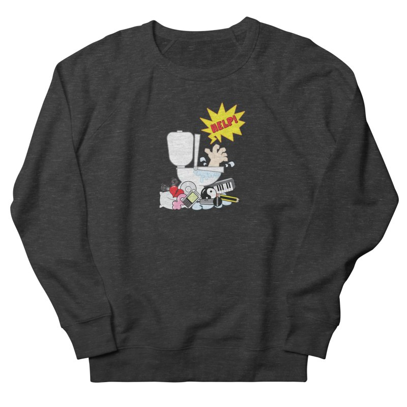 Brain Clog Women's Sweatshirt by Alaabahattab's Artist Shop