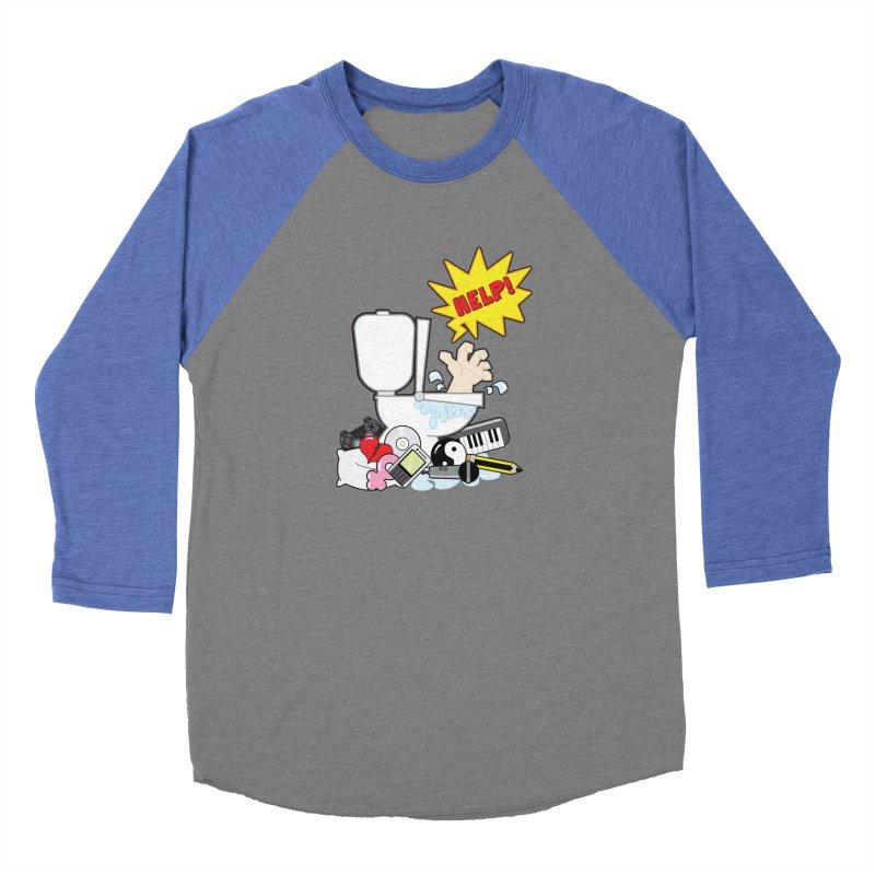 Brain Clog Women's Baseball Triblend T-Shirt by Alaabahattab's Artist Shop