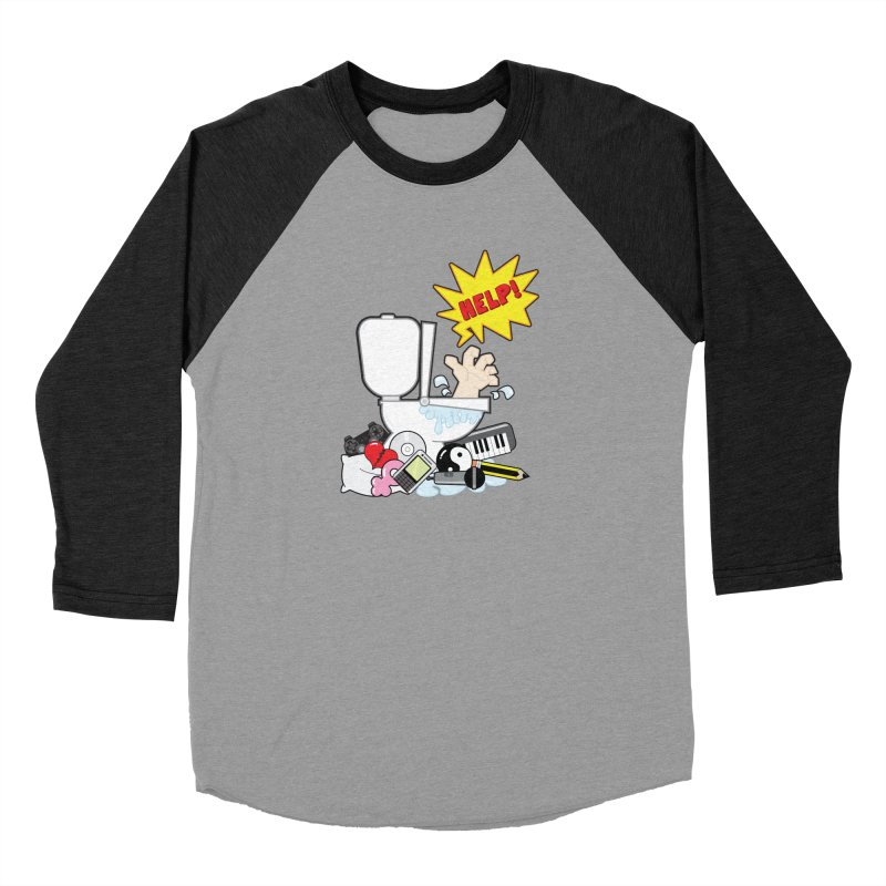 Brain Clog Men's Baseball Triblend T-Shirt by Alaabahattab's Artist Shop