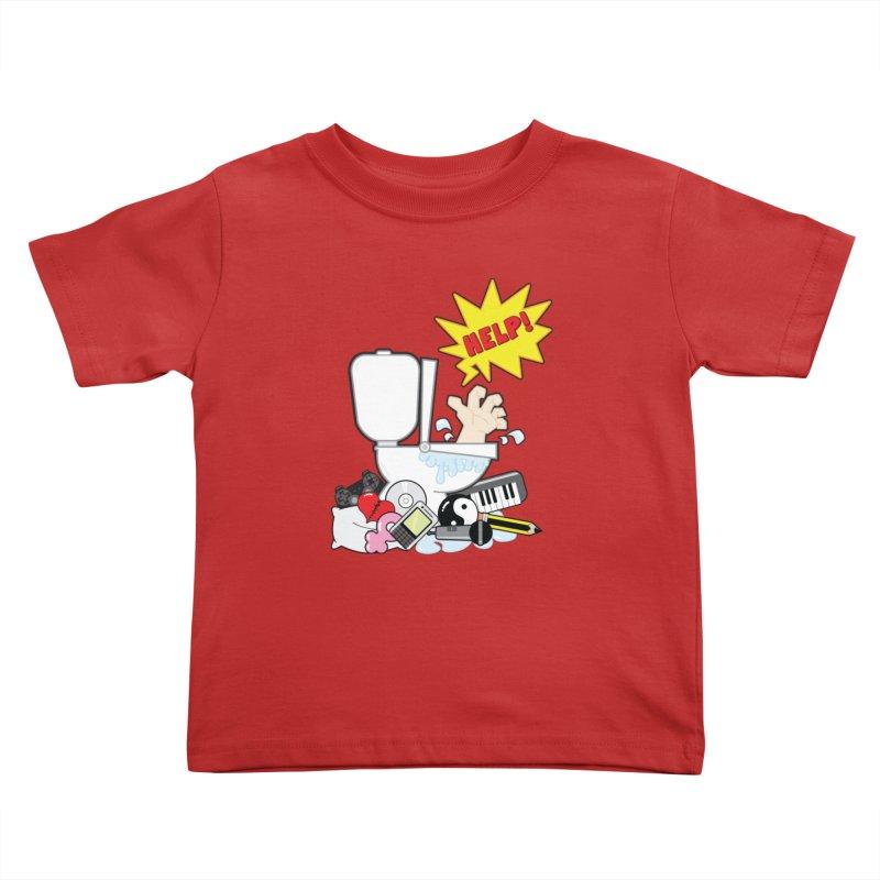 Brain Clog Kids Toddler T-Shirt by Alaabahattab's Artist Shop