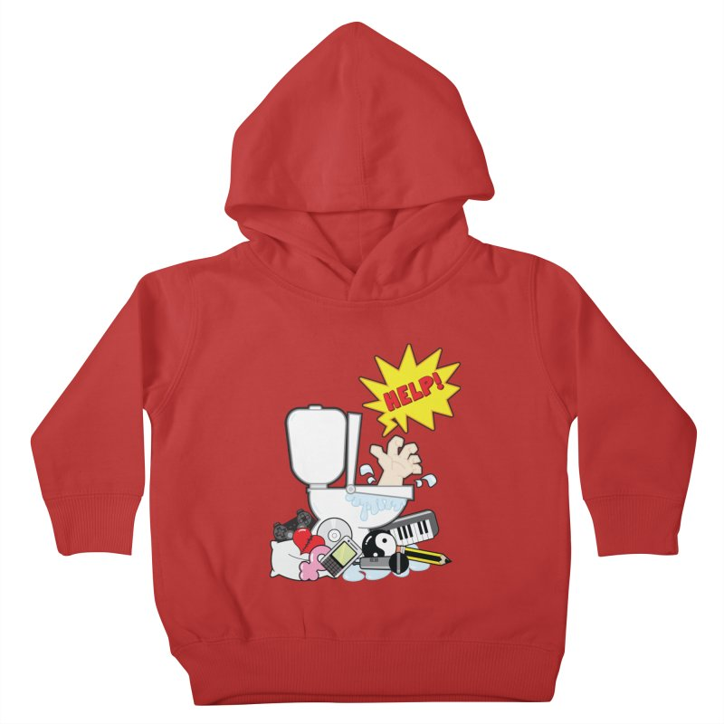 Brain Clog Kids Toddler Pullover Hoody by Alaabahattab's Artist Shop