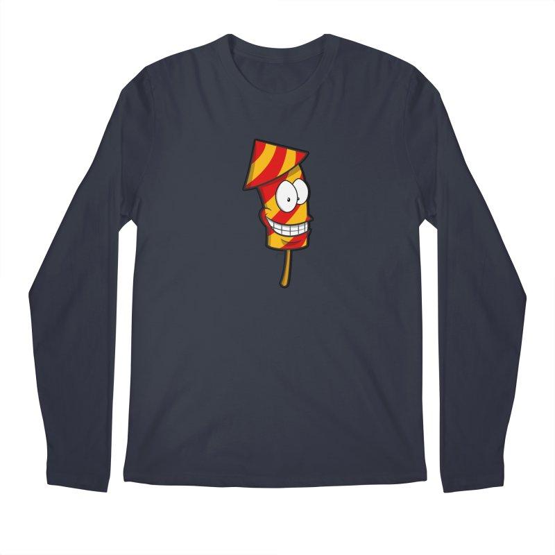 Firework Men's Longsleeve T-Shirt by Alaabahattab's Artist Shop