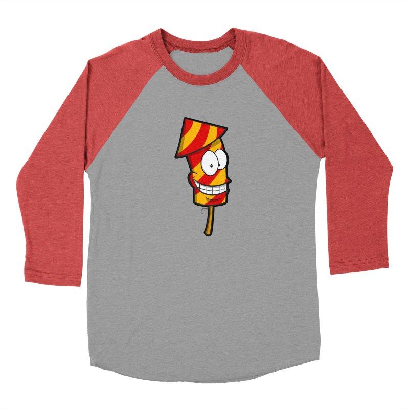Firework Men's Baseball Triblend T-Shirt by Alaabahattab's Artist Shop