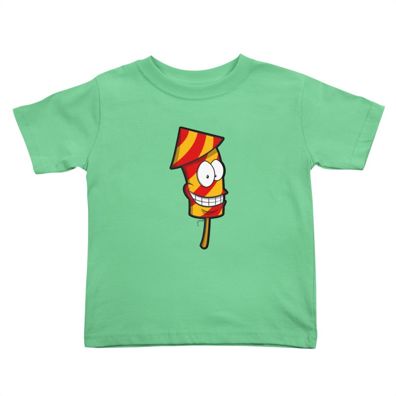 Firework Kids Toddler T-Shirt by Alaabahattab's Artist Shop