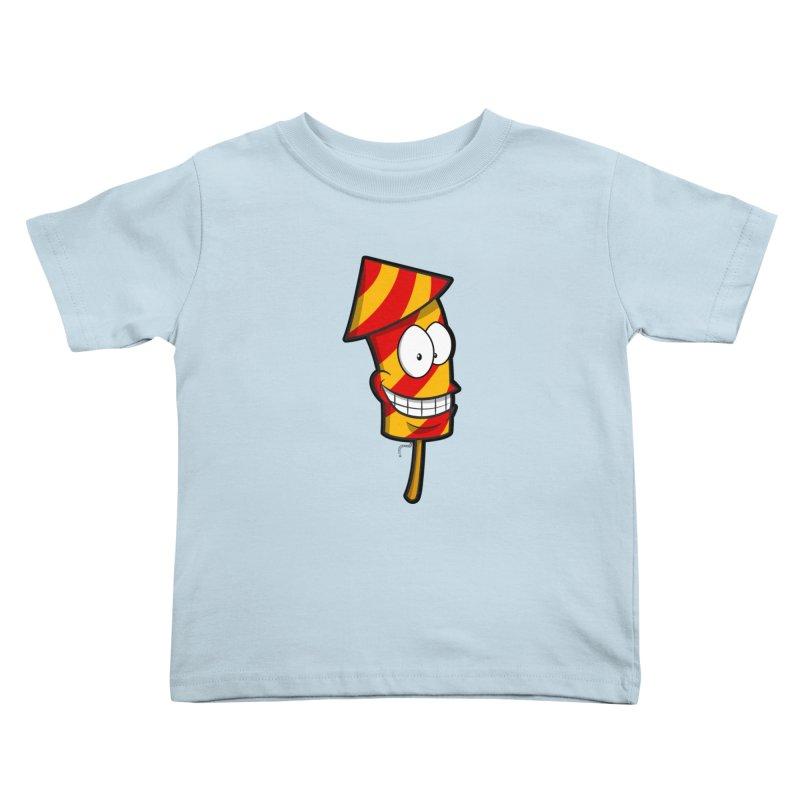 Firework Kids Toddler T-Shirt by Alaabahattab's Artist Shop