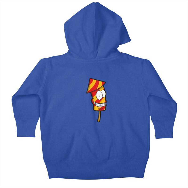 Firework Kids Baby Zip-Up Hoody by Alaabahattab's Artist Shop