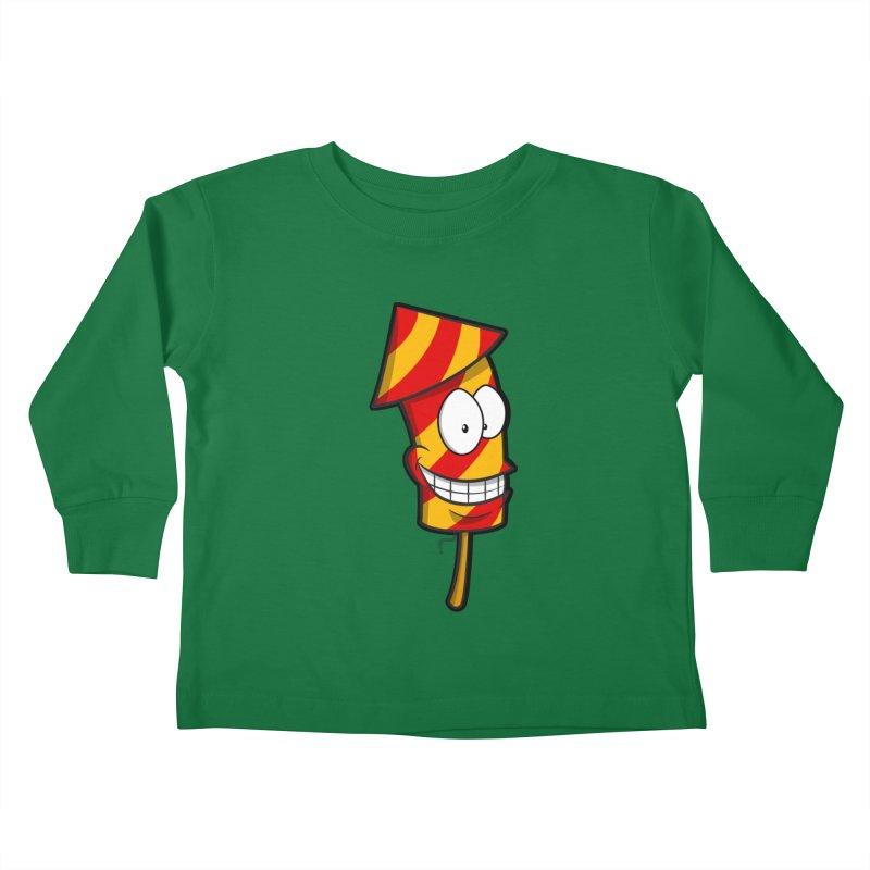 Firework Kids Toddler Longsleeve T-Shirt by Alaabahattab's Artist Shop