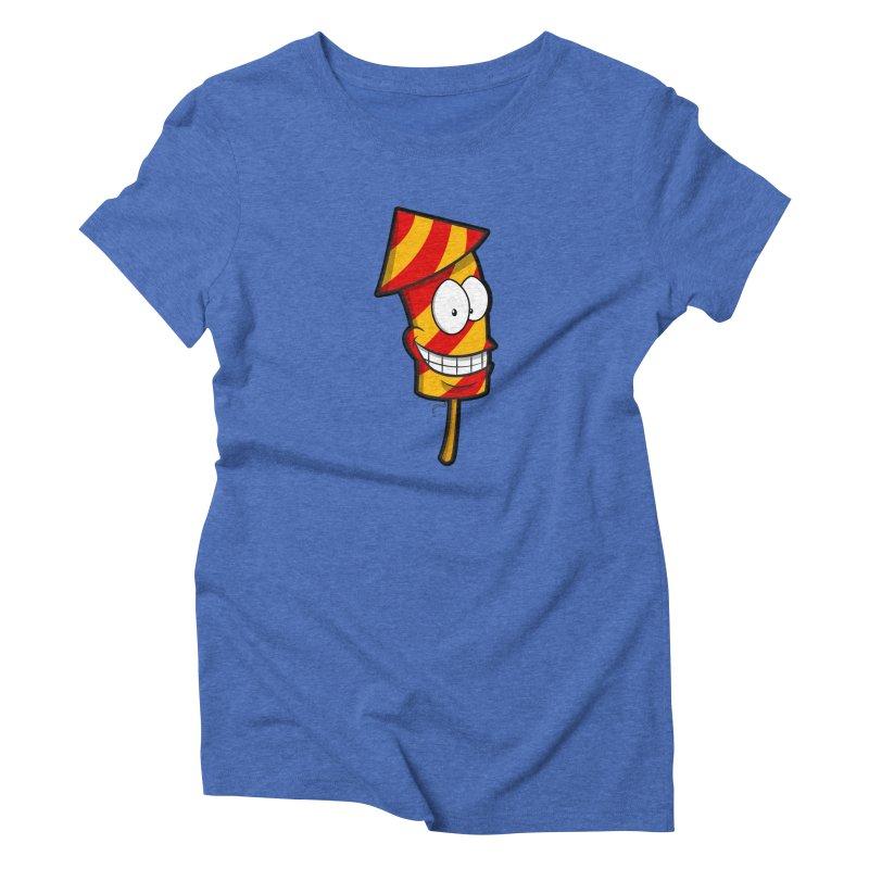 Firework Women's Triblend T-shirt by Alaabahattab's Artist Shop