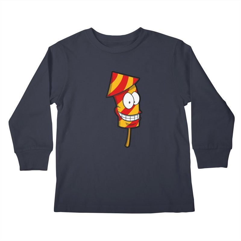 Firework Kids Longsleeve T-Shirt by Alaabahattab's Artist Shop