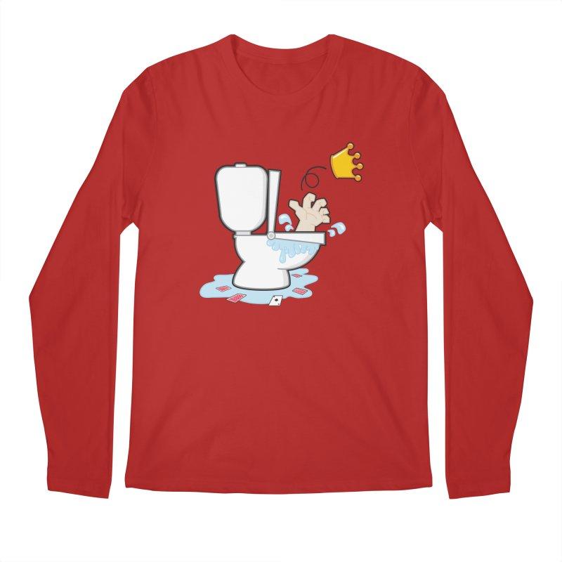 Royal Flush Men's Longsleeve T-Shirt by Alaabahattab's Artist Shop