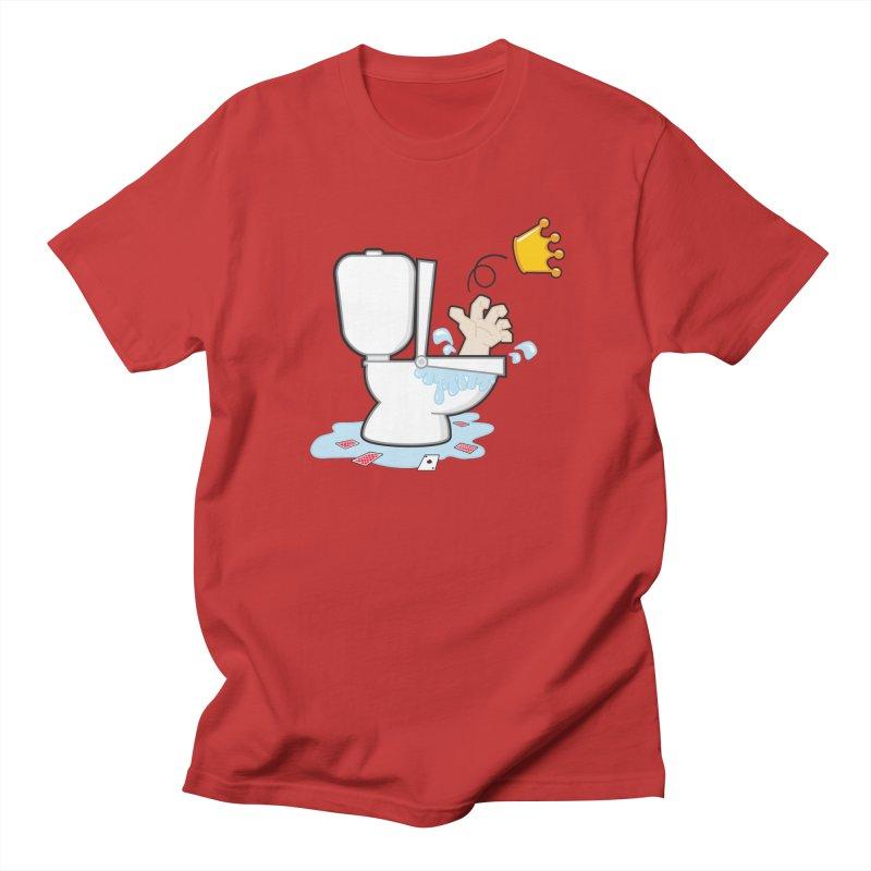 Royal Flush Men's T-Shirt by Alaabahattab's Artist Shop