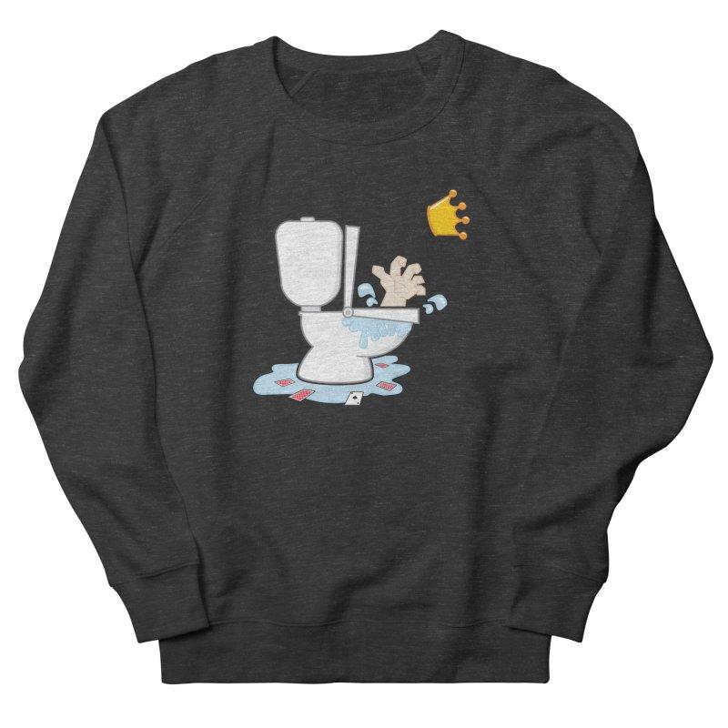 Royal Flush Men's Sweatshirt by Alaabahattab's Artist Shop