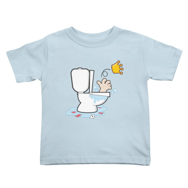 Royal Flush Kids Toddler T-Shirt by Alaabahattab's Artist Shop