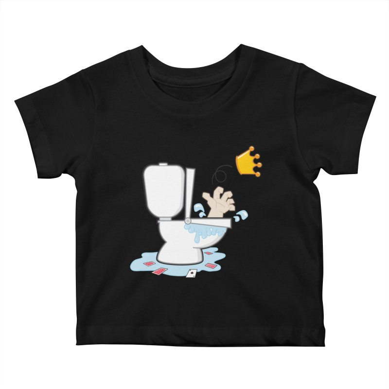 Royal Flush Kids Baby T-Shirt by Alaabahattab's Artist Shop
