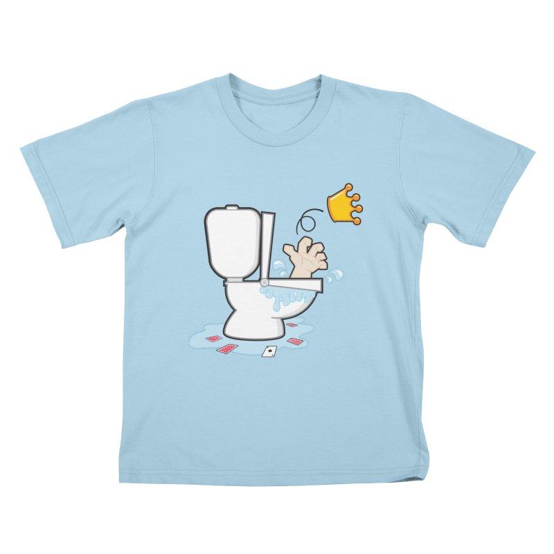 Royal Flush Kids T-Shirt by Alaabahattab's Artist Shop