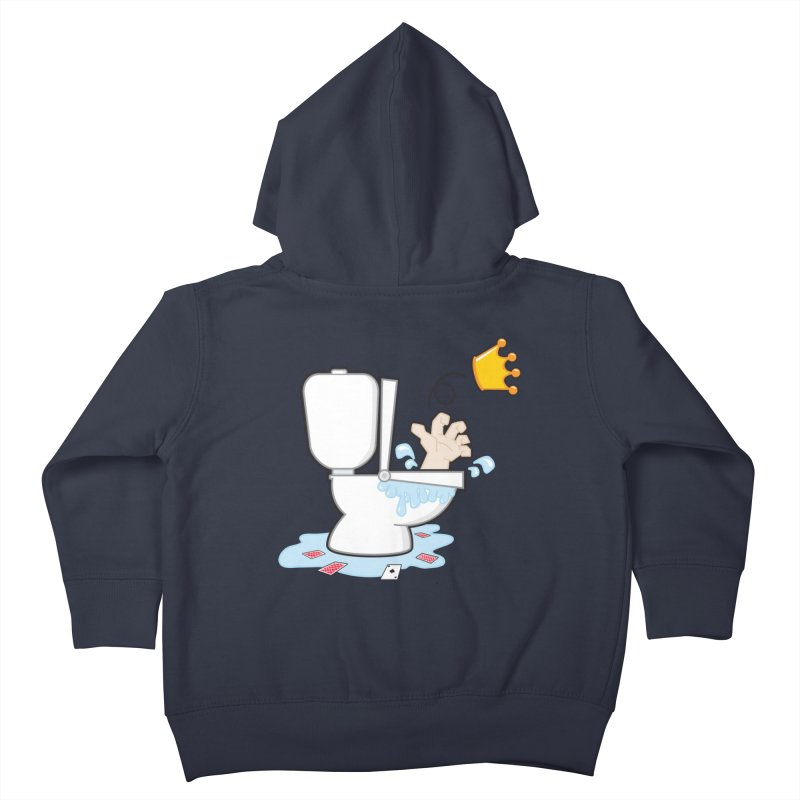 Royal Flush Kids Toddler Zip-Up Hoody by Alaabahattab's Artist Shop