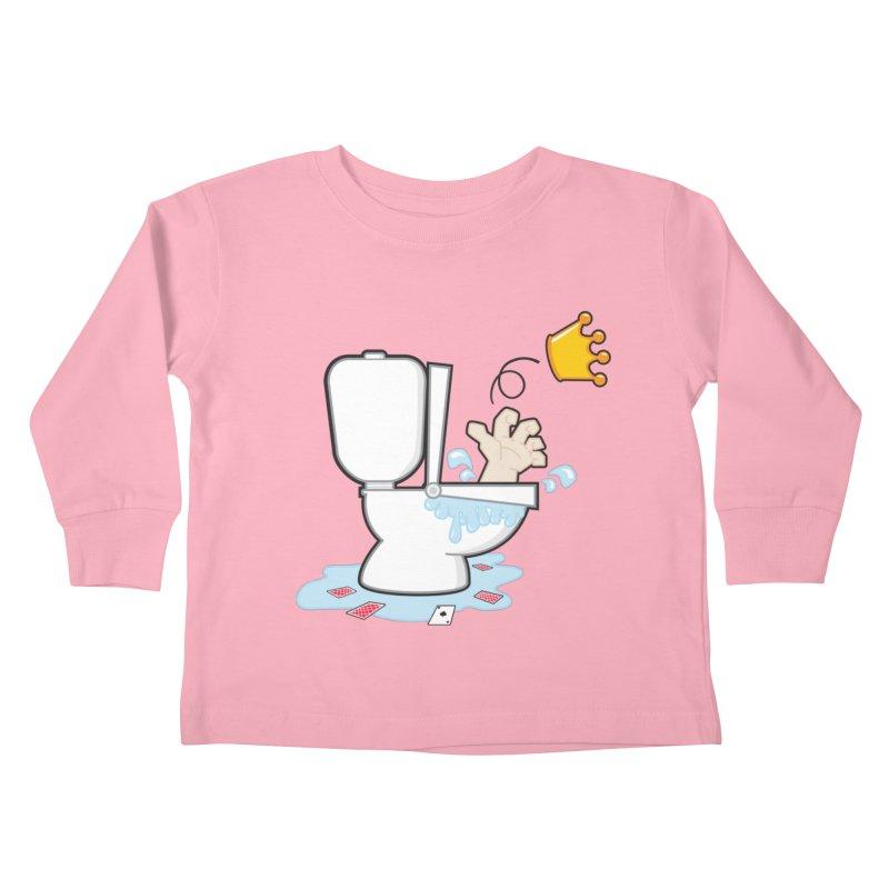 Royal Flush Kids Toddler Longsleeve T-Shirt by Alaabahattab's Artist Shop