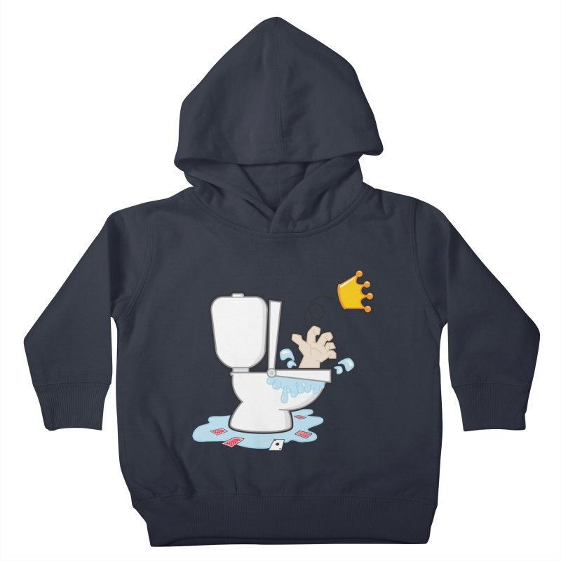 Royal Flush Kids Toddler Pullover Hoody by Alaabahattab's Artist Shop