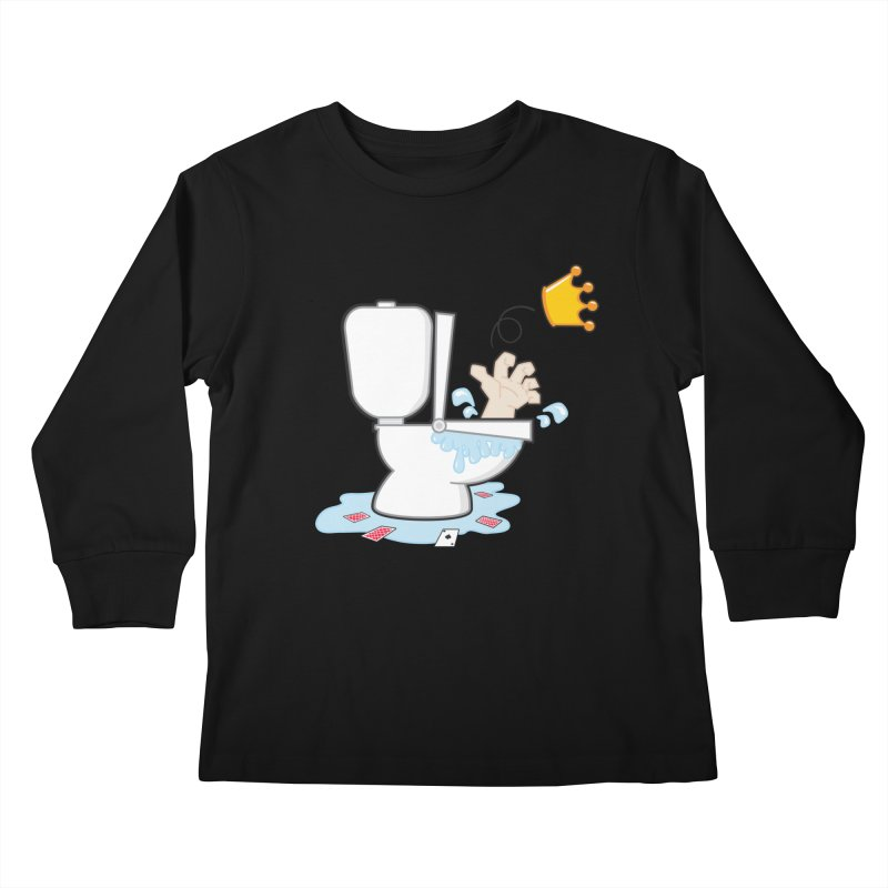 Royal Flush Kids Longsleeve T-Shirt by Alaabahattab's Artist Shop