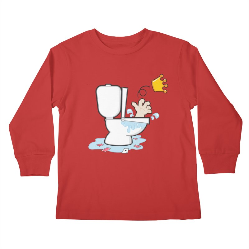 Royal Flush Kids Longsleeve T-Shirt by Alaabahattab's Artist Shop