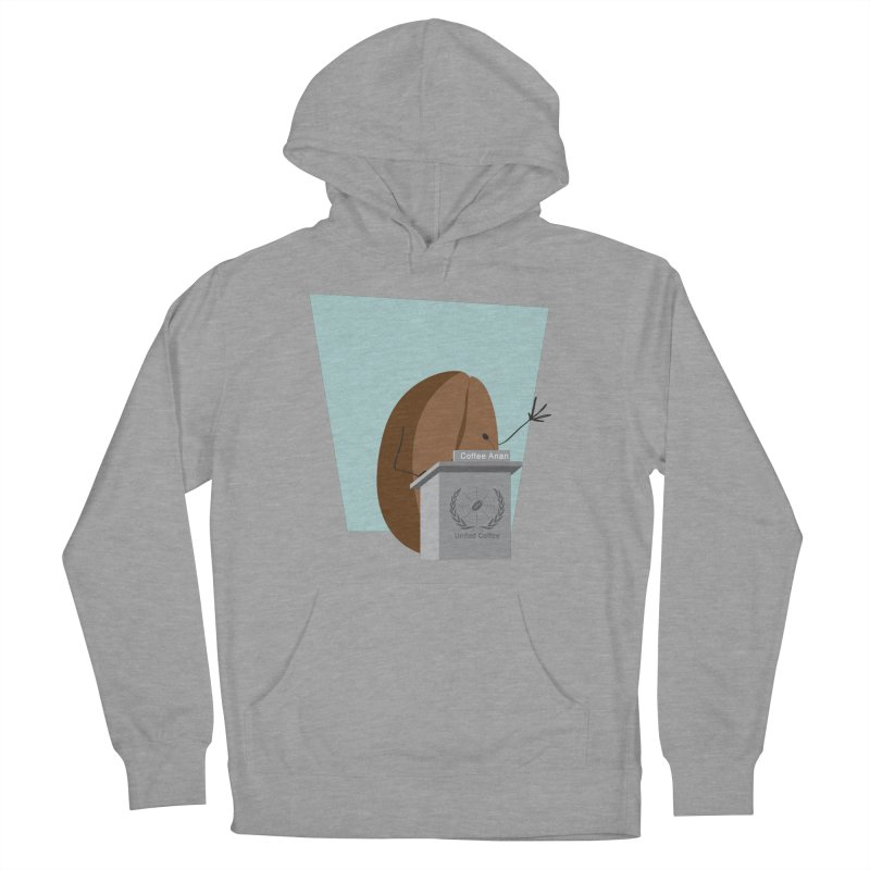 Coffee Anan Women's Pullover Hoody by Alaabahattab's Artist Shop