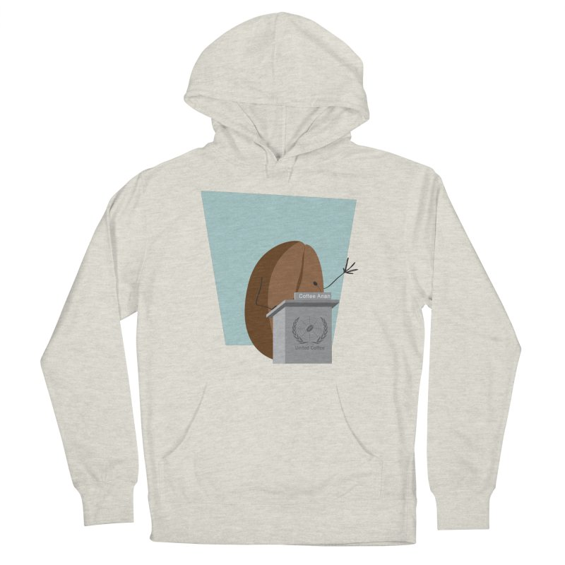 Coffee Anan Men's Pullover Hoody by Alaabahattab's Artist Shop