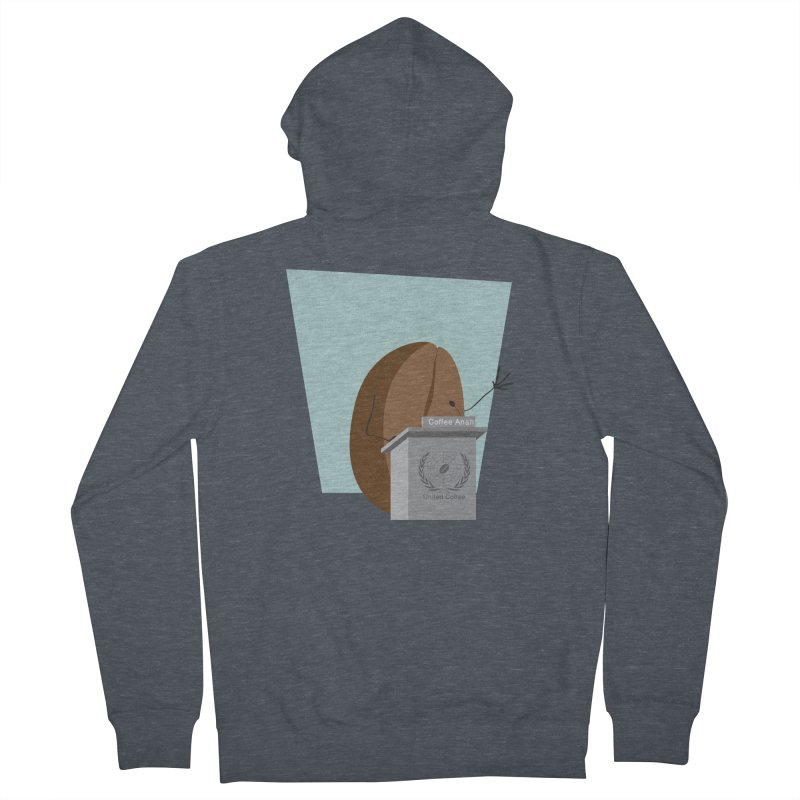 Coffee Anan Women's Zip-Up Hoody by Alaabahattab's Artist Shop