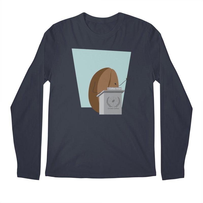 Coffee Anan Men's Longsleeve T-Shirt by Alaabahattab's Artist Shop